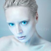 Цветные линзы Lensmam Solar Blue